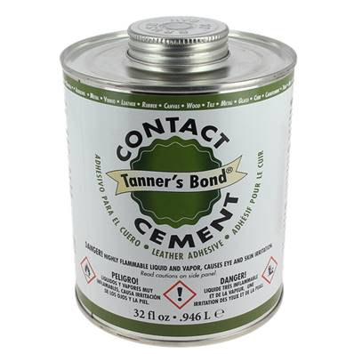 Colle contact pour cuir - TANNER'S BOND - 236 ml
