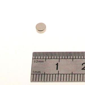 Aimant rond - 4 x 2 mm