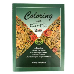 "Livre ""COLORING WITH ECO-FLO"