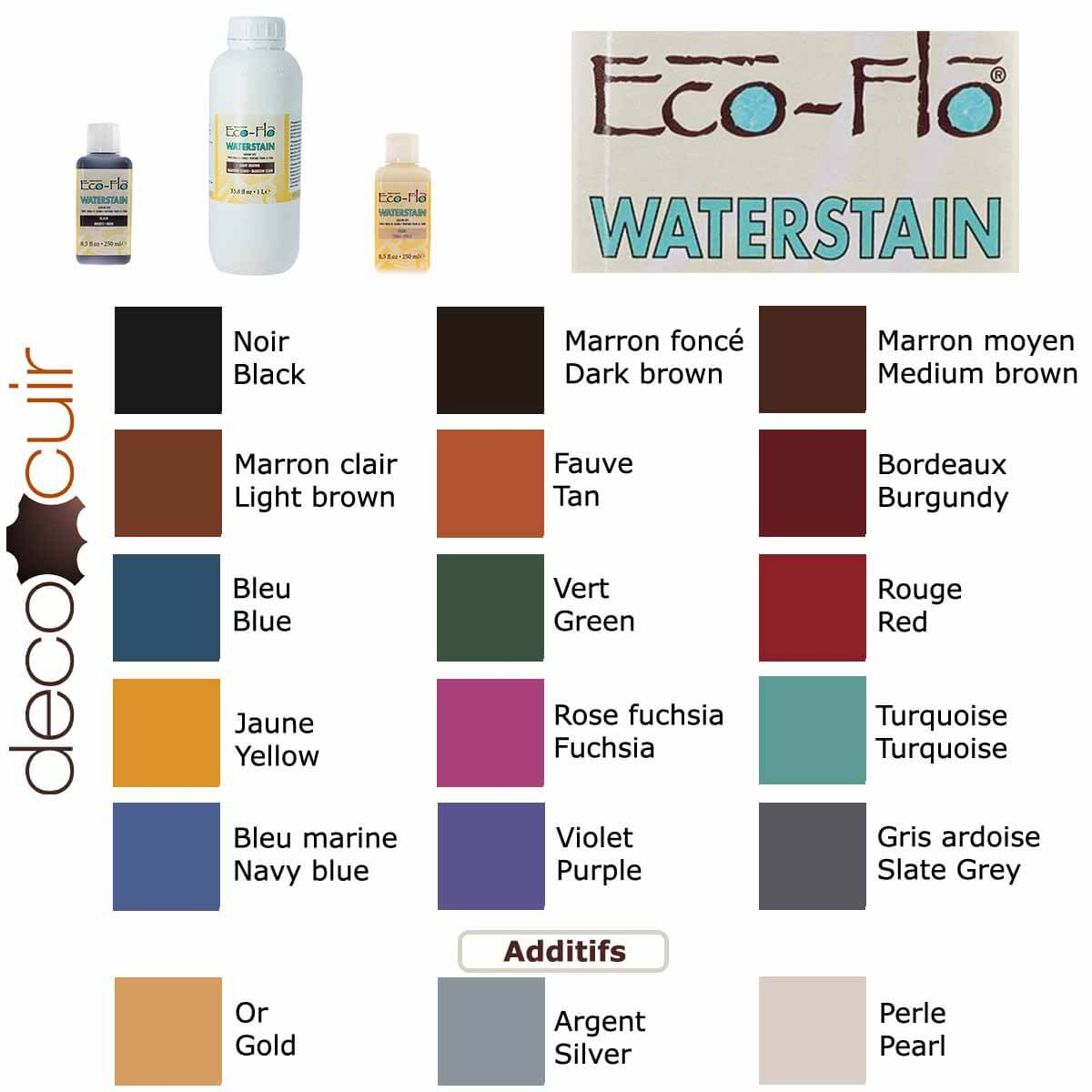 Teinture ECO-FLO WATERSTAIN - ROSE FUCHSIA / FUCHSIA - 250ml