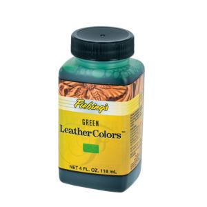 Teinture pour cuir FIEBING'S LEATHER COLORS - Institutional - VERT - GREEN