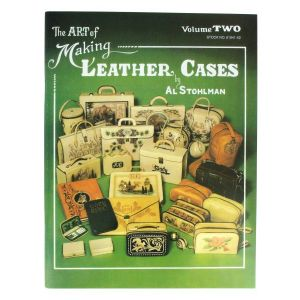 "Livre ""THE ART OF MAKING LEATHER CASES"" - L'art de créer des étuis en cuir - Volume 2"