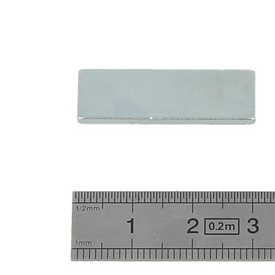 Aimant rectangle - 30 x 10 x 2 mm