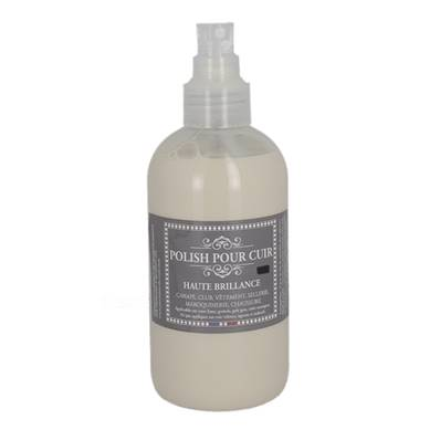 Polish pour lustrer le cuir - Spray en flacon de 250 ml