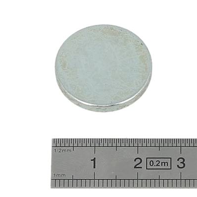 Aimant rond - 23 x 3 mm