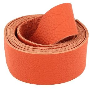 Sangle GROGRAIN - MANDARINE - largeur = 38 mm
