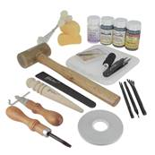 "Kit complet ""DELUXE LEATHERCRAFTING"" - 55403"