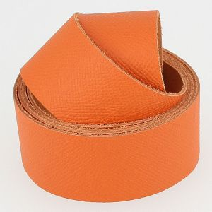 Sangle MANDARINE grain dauphin - largeur = 38 mm