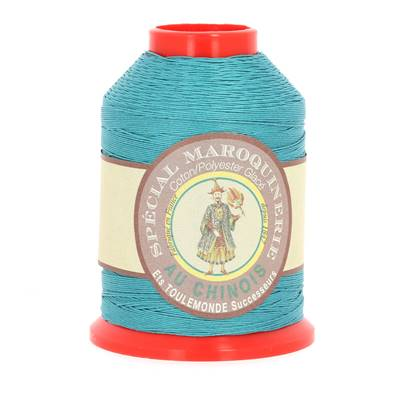 Fil Spécial Maroquinerie polyester coton - 28/4 - 0,52 mm - CANARD