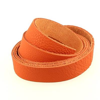 Sangle GROGRAIN - ORANGE - largeur = 19 mm