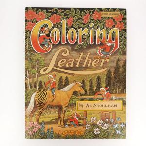 "Livre ""COLORING LEATHER"